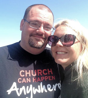 Pastor Jeremy WIcks and wife, Toinette.