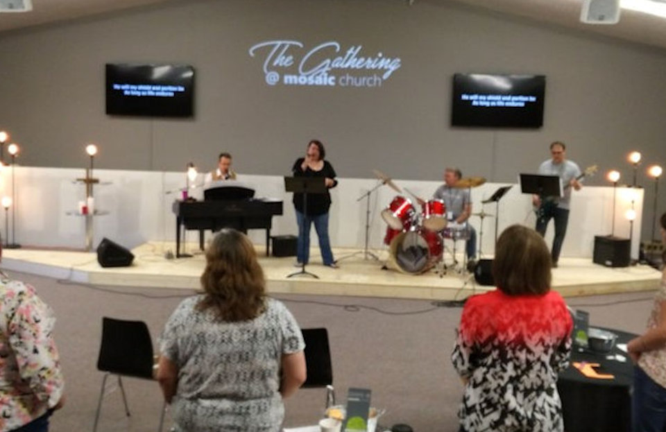 Worship at Traverse City Mosaic Church