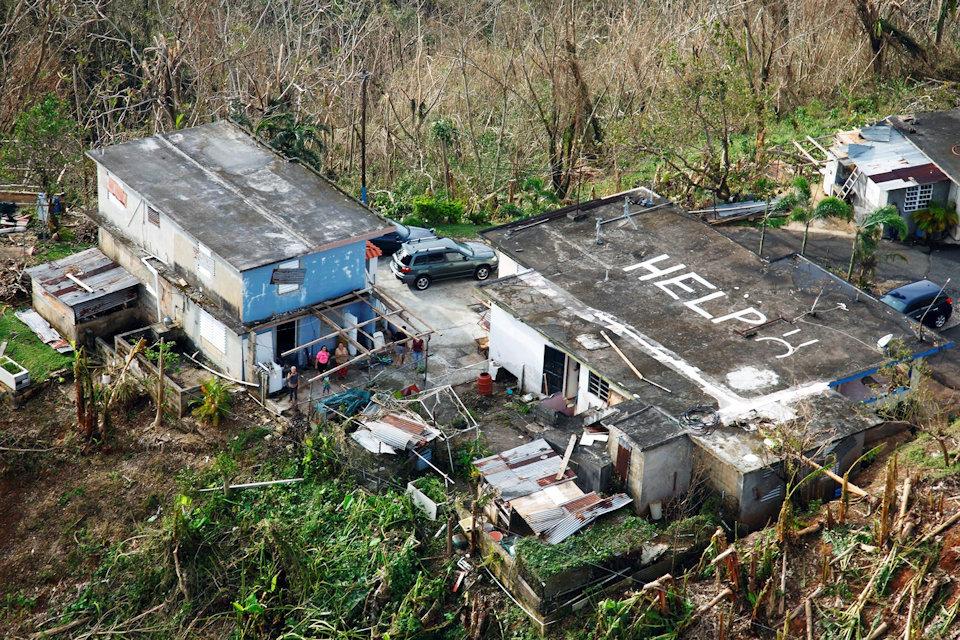 Hurricane Maria Sept. 2017 Puerto Rico