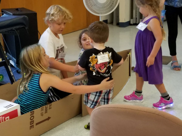 Messy Church at Warren 1st UMC
