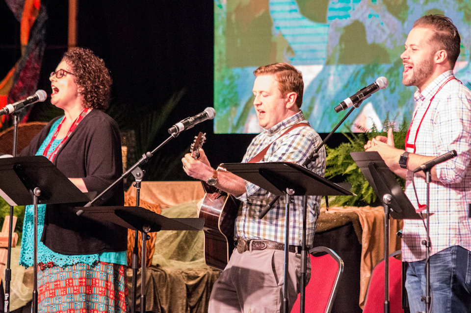 Worship team at 2017 Annual Conference