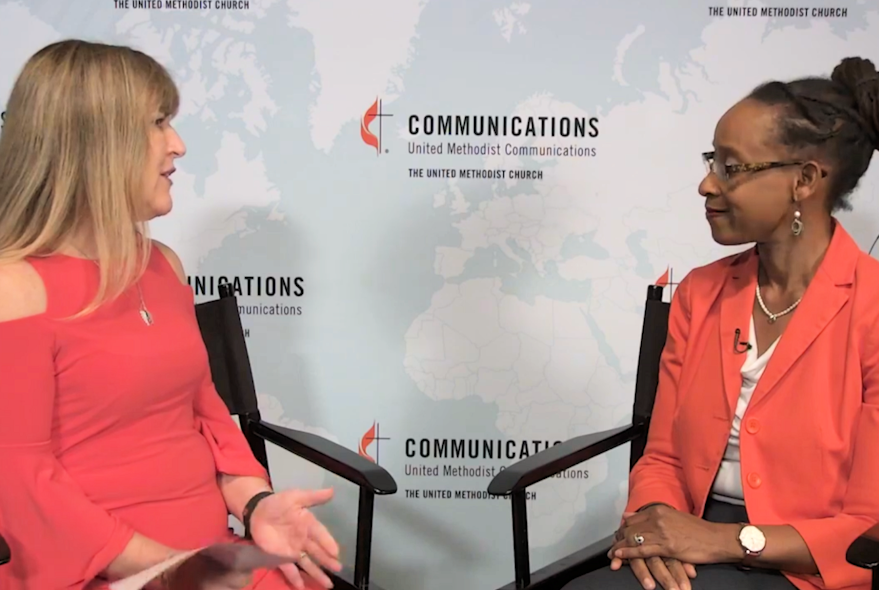 Rev. Kennetha Bigham-Tsai interviewed by UMCOM