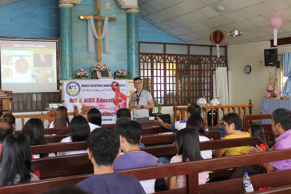 AIDs awareness and prevention conference in the Philippines
