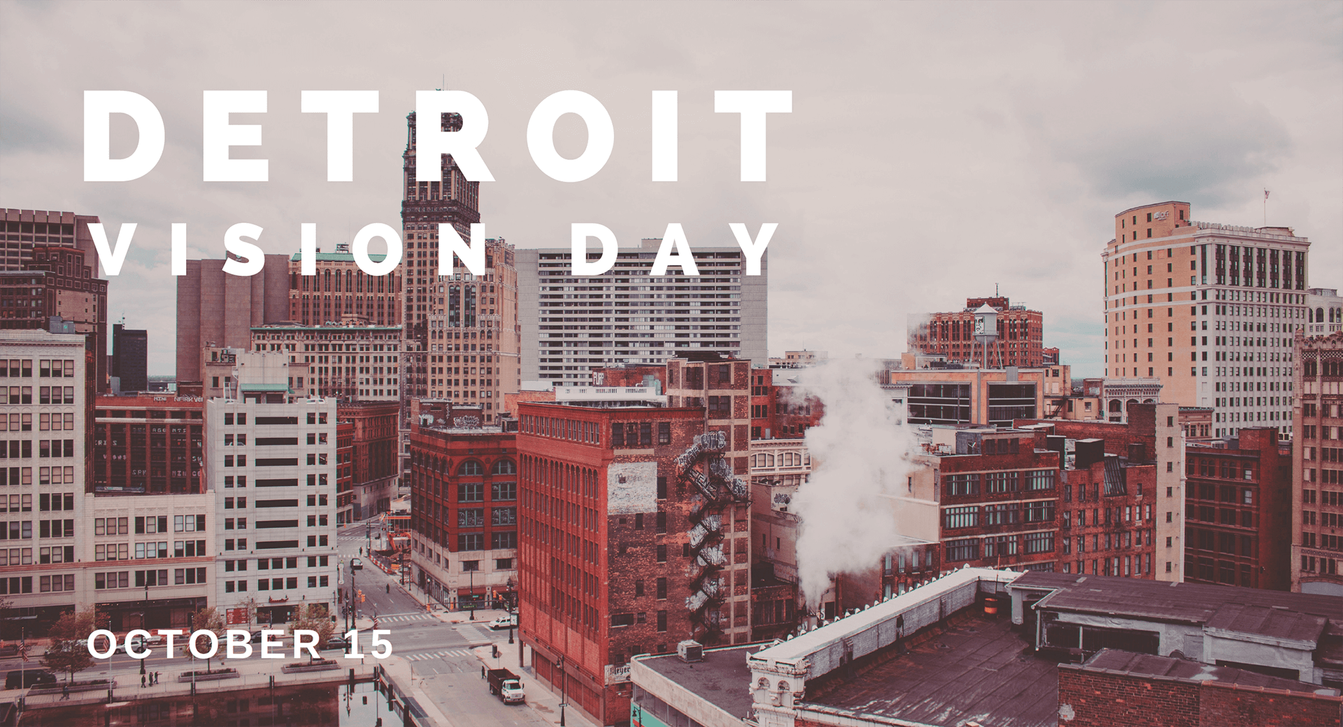 Detroit Vision Day 2018 Graphic