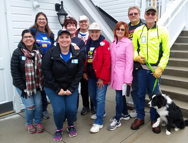 Seymour Lake UMC members walk for hunger