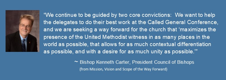 Quote Bishop Kenneth Carter