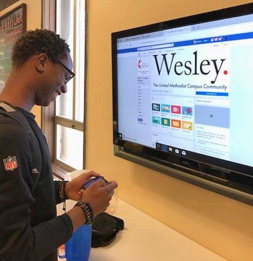 Wesley Foundation student