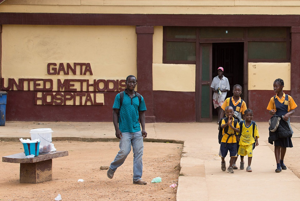 Ganta United Methodist Hospital in Liberia