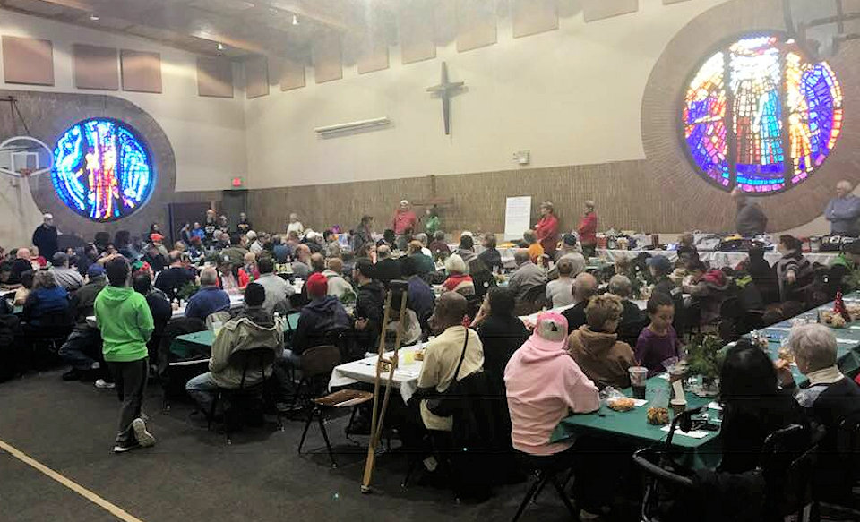 Community dinner held at Holland First UMC