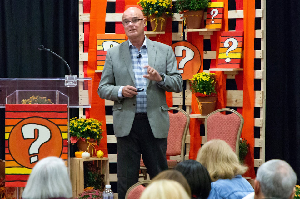Brian McLaren keynotes 2018 CEF Conference