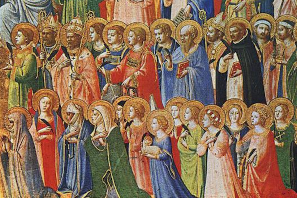 All Saints painting