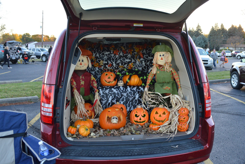 Car in a Trunk of Treat event