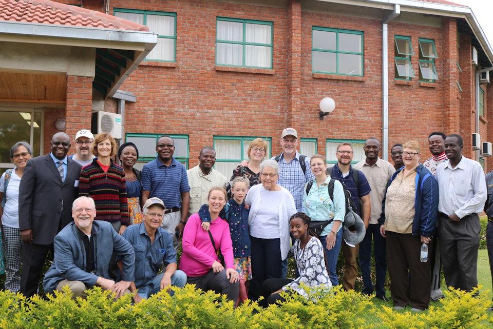 Iowa delegation visits Africa University