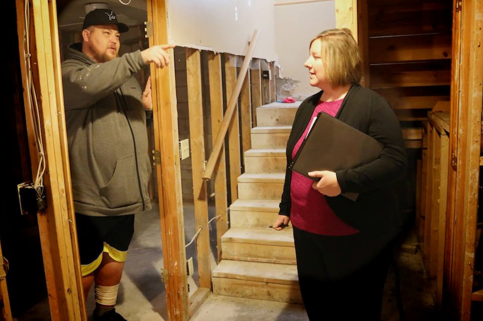 UMCOR Case Manager helps homeowner in Midland