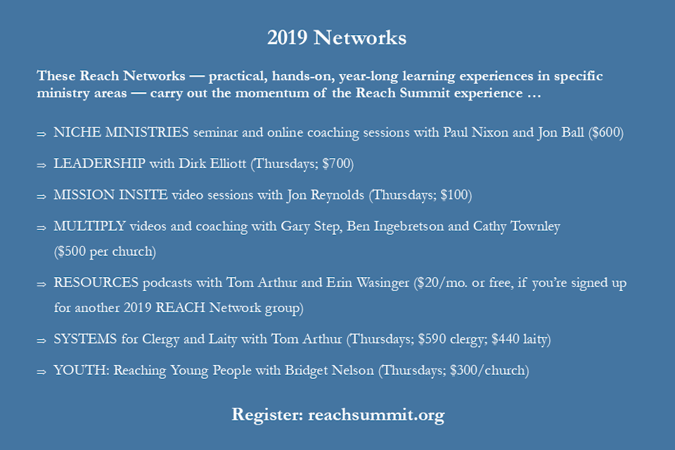 Seven Reach Network choices