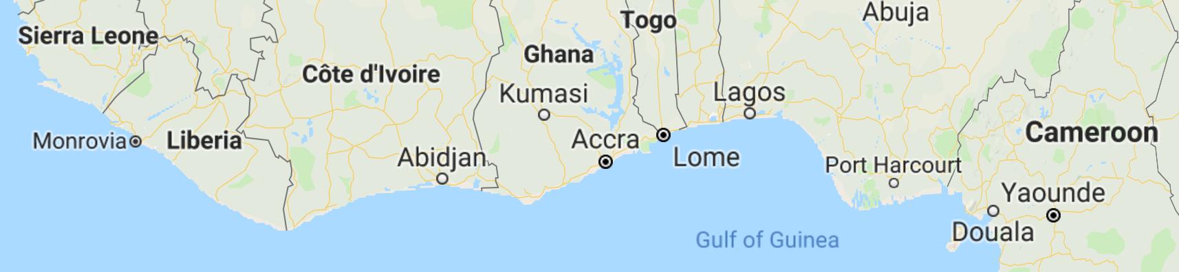 Liberia Map