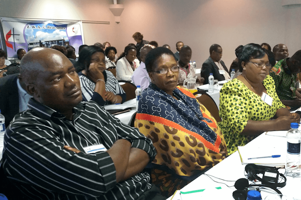 Delegates from East Africa