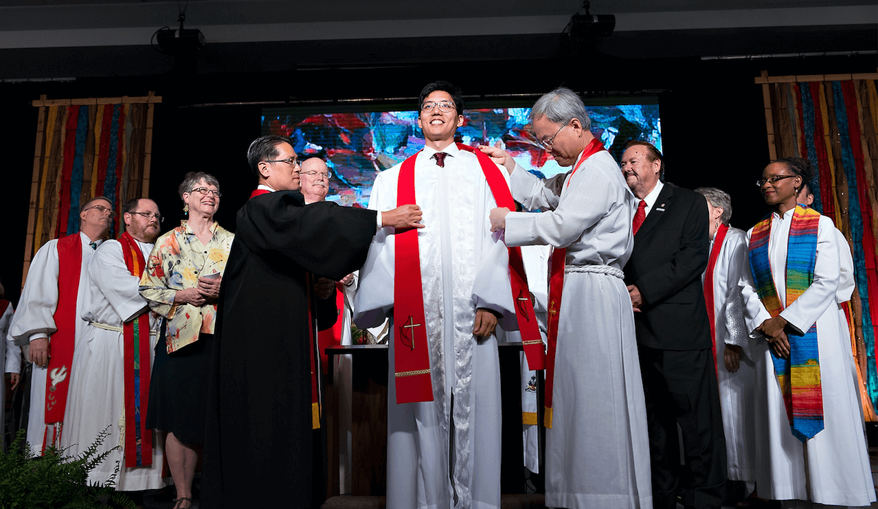 Ordination robing 2018