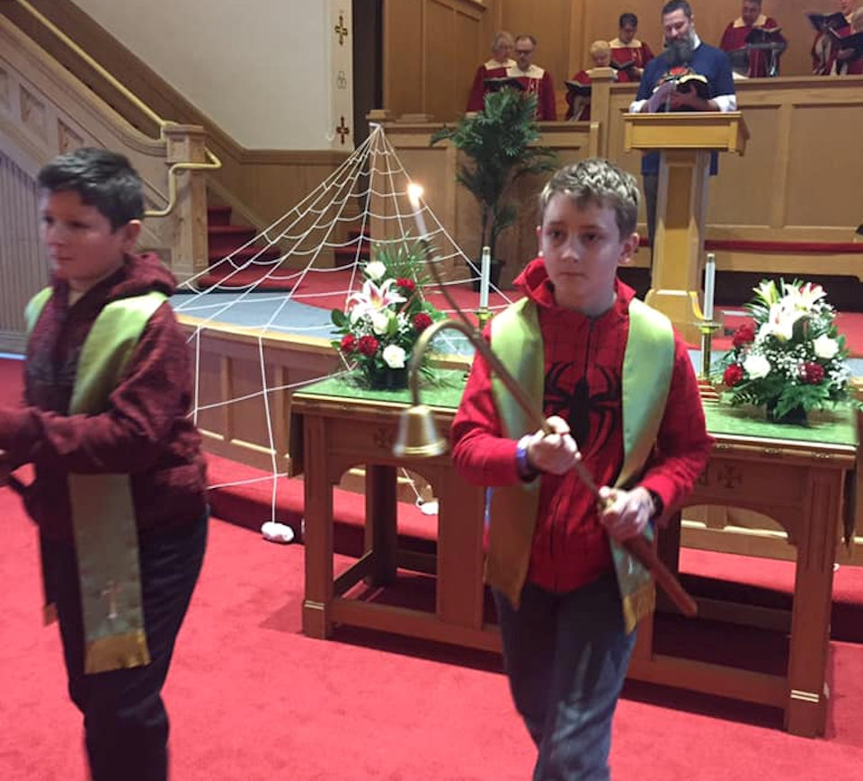 Acolytes at Flint: Court Street UMC