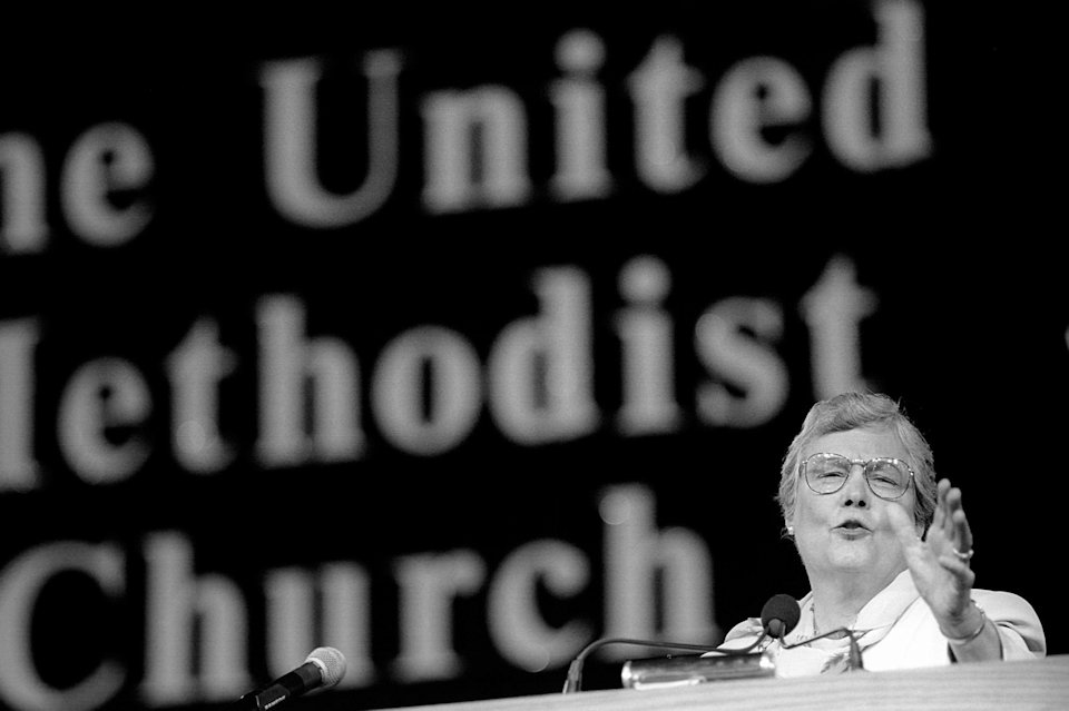 Bishop Judith Craig at 1996 General Conference