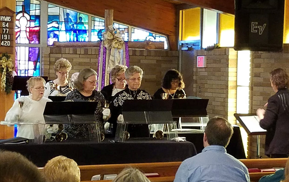 Bell Choir at Holly: Calvary UMC