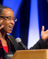 Kennetha Bigham-Tsai at pre-Conference briefing in February 2016