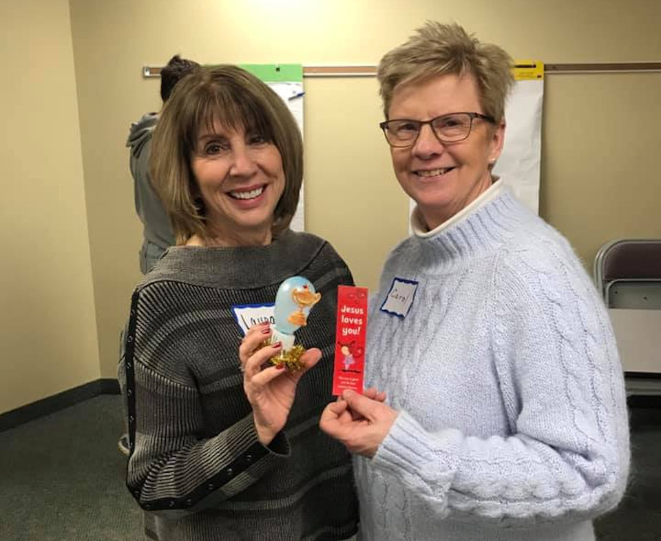 Women supporting mission at South Lyon UMC