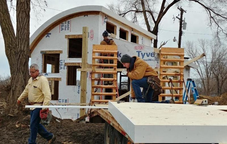 Tiny Home build at Cass Community Social Services