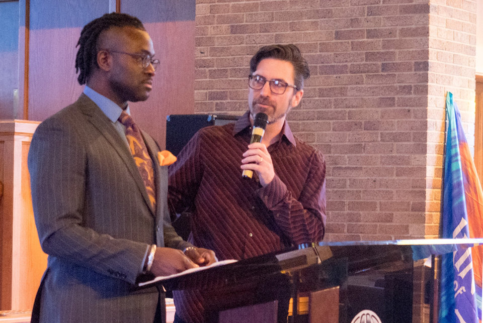 Pastors Sean Holland and Tom Arthur