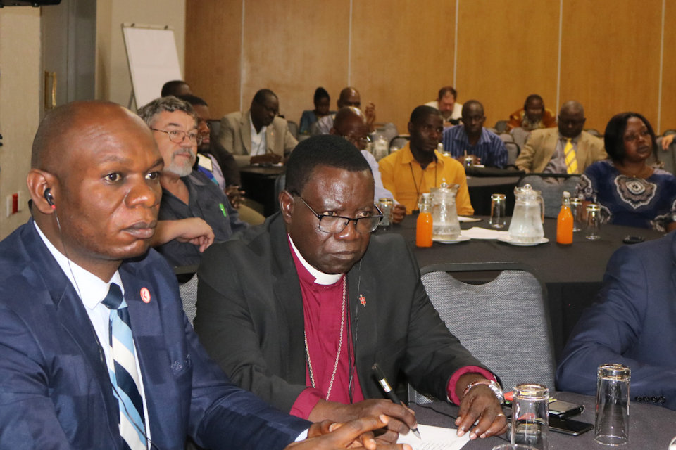 Missionary Paul Webster attends Agriculture Summit in Africa.