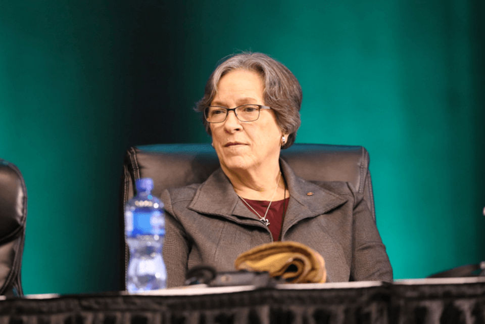 Bishop Deborah Lieder Kiesey at GC 2019