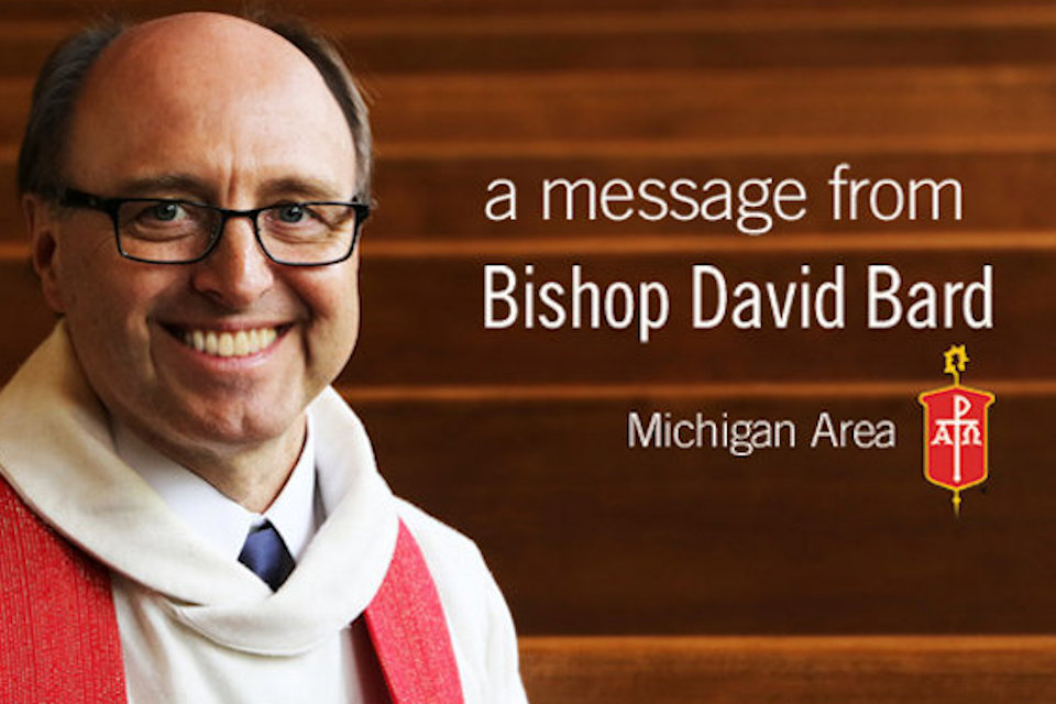 Message from Bishop Bard