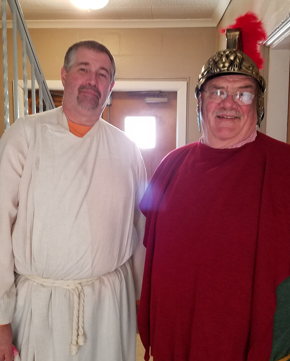 Bible characters come to VBS