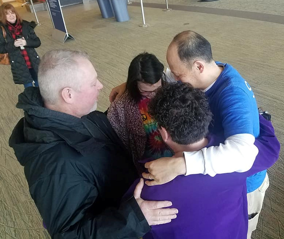 Prayer Circle of Central Bay Mission Team to Philippines