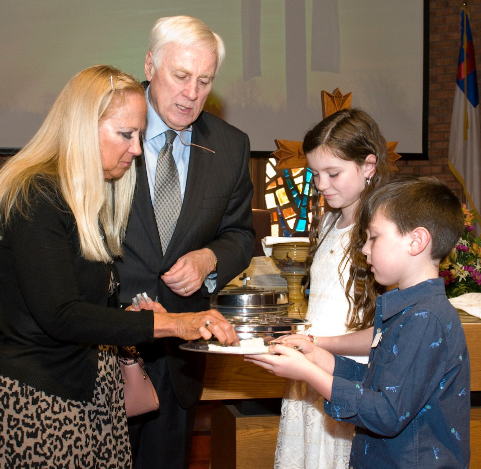 Communion Service with confirmands