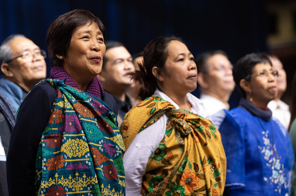 Choir from the Philippines