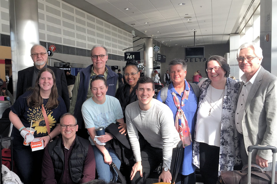 Michigan United Methodists in Detroit Metro Airport
