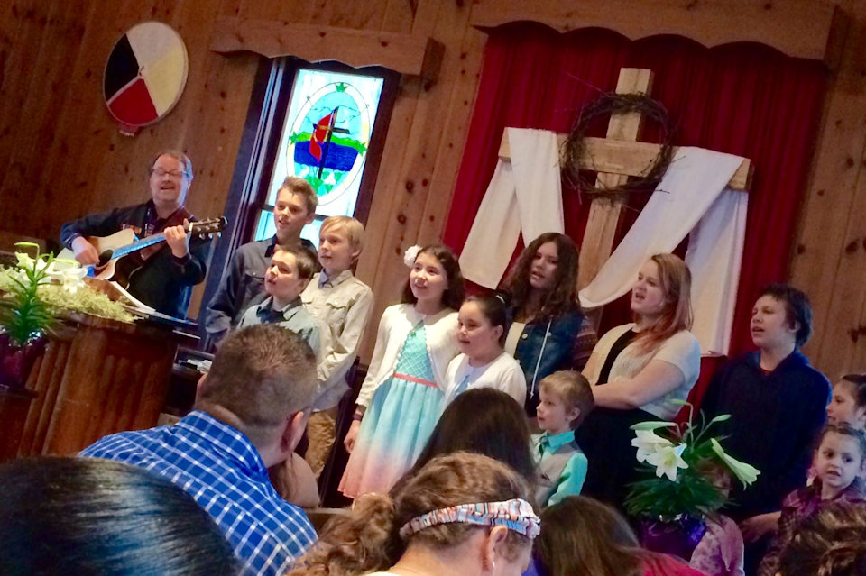 Easter 2016 at Greenky Hill UMC near Charlevoix