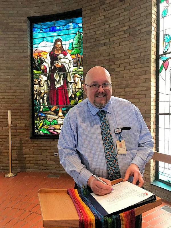Holland UMC signs charter as Reconciling Congregation