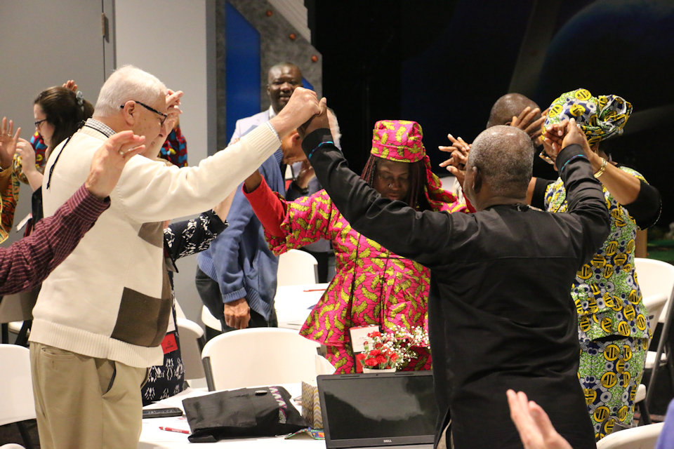 Worship during Liberia Summit 2019