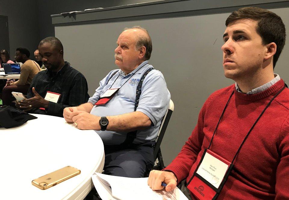 Alex Plum at Liberia Partners Summit
