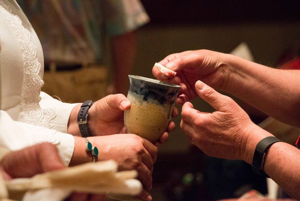 Serving Communion