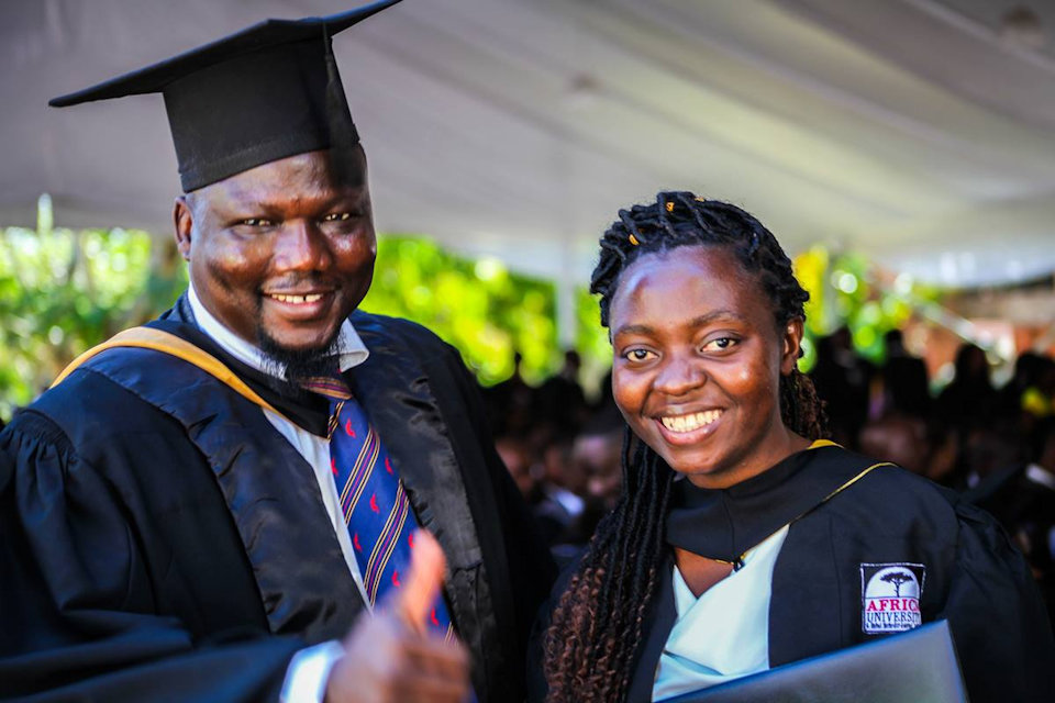 Two Africa University grads Class of 2019