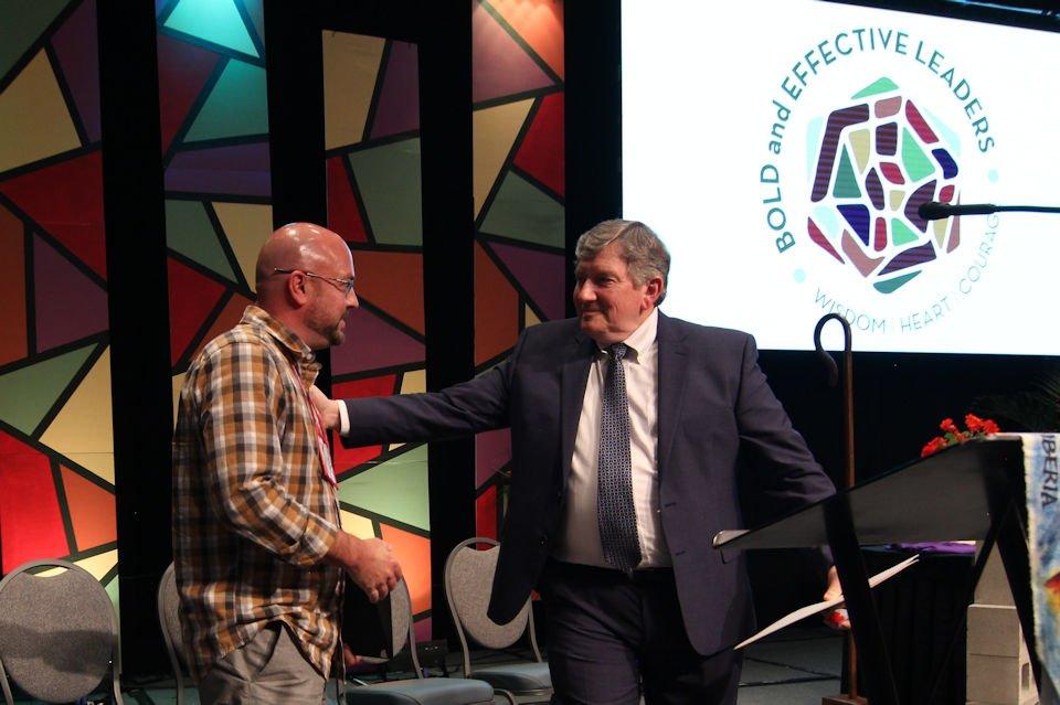Denman Award recipient Matt Bistayi