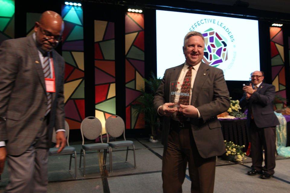 Mark Doyal receives EPI Award