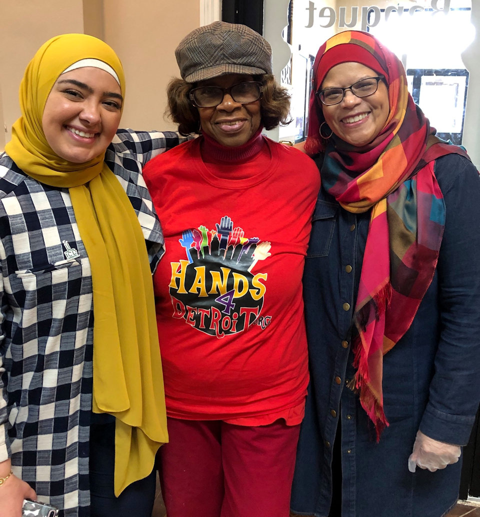 three women of faith