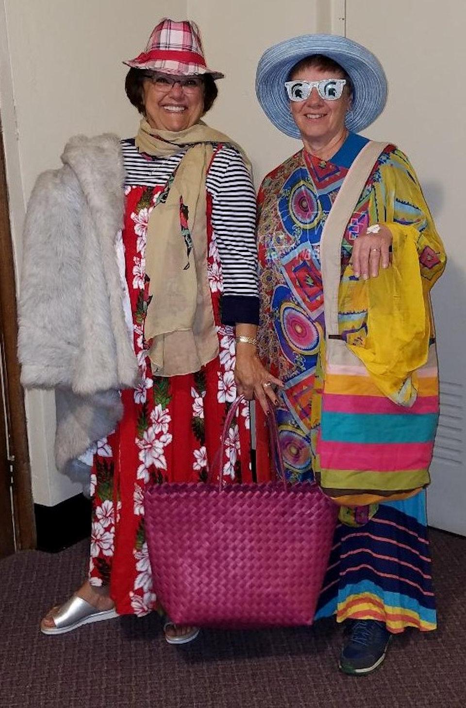 Women at Rummage Sale