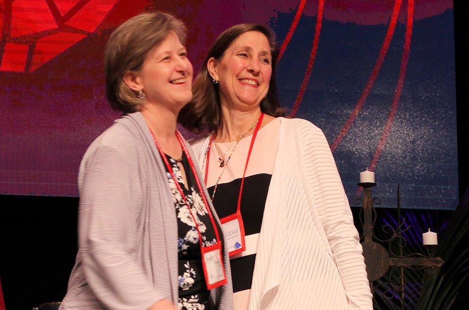 Goodbye Anita Hahn and hello Jodi Flessner