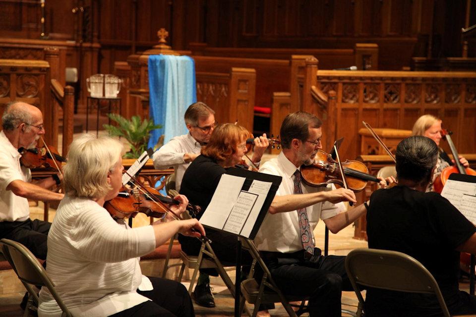 String ensemble at Kalamazoo First UMC