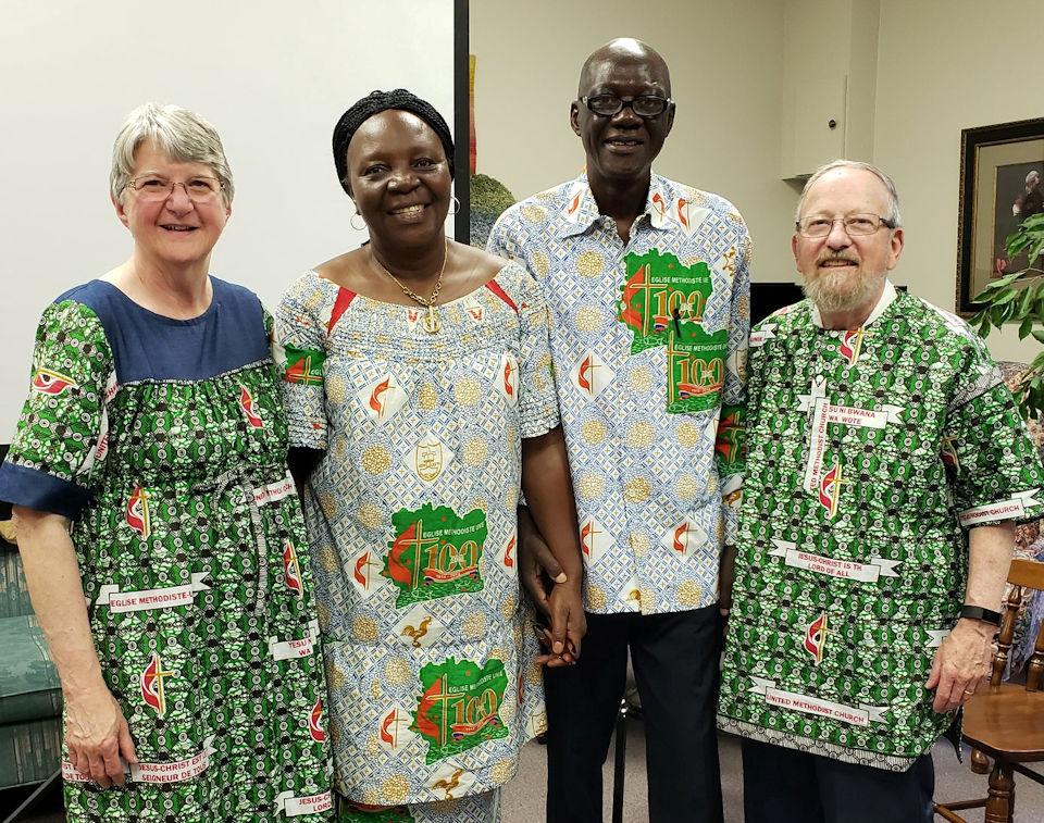 Missionary Dr. Pierre Manya